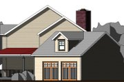 Farmhouse Style House Plan - 3 Beds 3 Baths 2557 Sq/Ft Plan #524-15 Exterior - Other Elevation