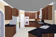 European Style House Plan - 5 Beds 3 Baths 2550 Sq/Ft Plan #44-157 Photo