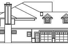 Home Plan - European Exterior - Other Elevation Plan #124-515