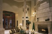 Mediterranean Style House Plan - 5 Beds 6 Baths 5816 Sq/Ft Plan #930-15 Interior - Family Room