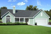 Traditional Style House Plan - 3 Beds 2.5 Baths 1831 Sq/Ft Plan #312-433 Exterior - Front Elevation