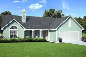 Traditional Exterior - Front Elevation Plan #312-433
