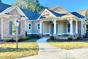 Craftsman Style House Plan - 3 Beds 2.5 Baths 2136 Sq/Ft Plan #437-113 Exterior - Front Elevation