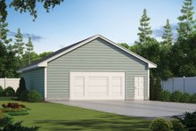 Traditional Exterior - Front Elevation Plan #20-2374