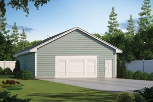 Dream House Plan - Traditional Exterior - Front Elevation Plan #20-2374