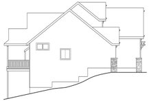 Traditional Exterior - Other Elevation Plan #124-921