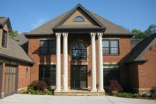 Dream House Plan - European Exterior - Other Elevation Plan #437-6