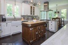 Dream House Plan - Country Interior - Kitchen Plan #929-807