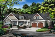 Craftsman Style House Plan - 3 Beds 2 Baths 2025 Sq/Ft Plan #929-1040 Exterior - Front Elevation