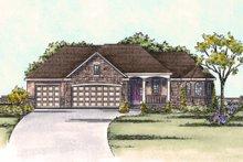 Dream House Plan - European Exterior - Front Elevation Plan #20-1817