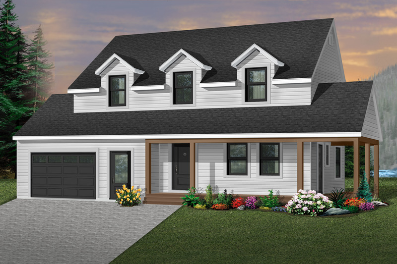Traditional Exterior - Front Elevation Plan #23-278