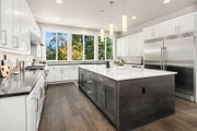 Contemporary Style House Plan - 4 Beds 3.5 Baths 3980 Sq/Ft Plan #1066-62 Interior - Kitchen
