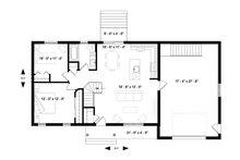 Ranch Floor Plan - Main Floor Plan Plan #23-2653