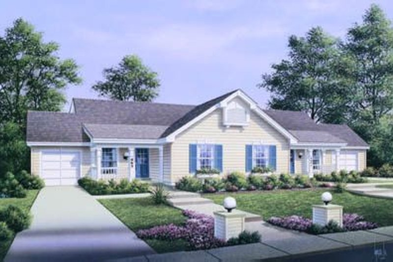 House Plan Design - Traditional Exterior - Front Elevation Plan #57-148