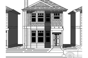 Traditional Exterior - Front Elevation Plan #423-41