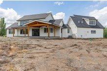 House Plan Design - Farmhouse Exterior - Rear Elevation Plan #1070-39