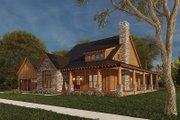 Craftsman Style House Plan - 3 Beds 2.5 Baths 2006 Sq/Ft Plan #923-178 Exterior - Other Elevation