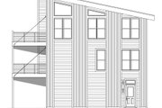 Contemporary Style House Plan - 2 Beds 2.5 Baths 2528 Sq/Ft Plan #932-256 Exterior - Other Elevation