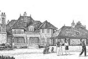 European Style House Plan - 5 Beds 8 Baths 6274 Sq/Ft Plan #310-352 Exterior - Rear Elevation