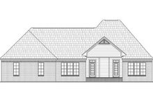 Dream House Plan - European Exterior - Rear Elevation Plan #21-243