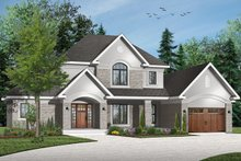 Dream House Plan - Traditional Exterior - Front Elevation Plan #23-831