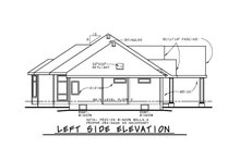 Dream House Plan - Traditional Exterior - Other Elevation Plan #20-2458