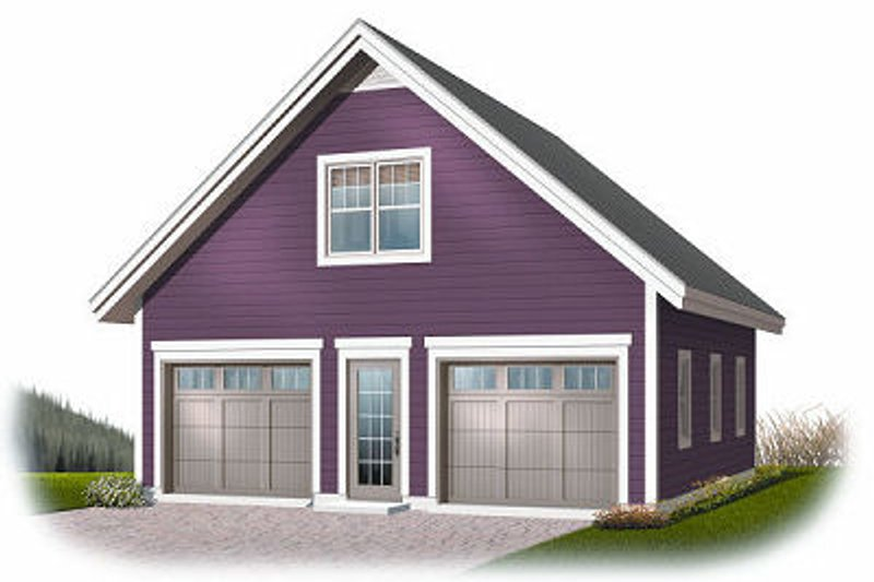 Home Plan - Traditional Exterior - Front Elevation Plan #23-765