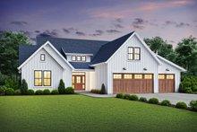House Plan Design - Farmhouse Exterior - Front Elevation Plan #48-981