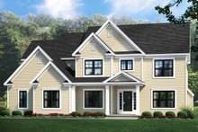 Home Plan - Traditional Exterior - Front Elevation Plan #1010-233