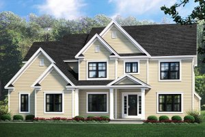 Traditional Exterior - Front Elevation Plan #1010-233