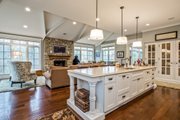 European Style House Plan - 4 Beds 3.5 Baths 3890 Sq/Ft Plan #901-84 Photo