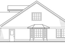 Traditional Exterior - Other Elevation Plan #124-403