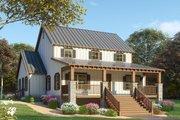Farmhouse Style House Plan - 3 Beds 2.5 Baths 2144 Sq/Ft Plan #923-91