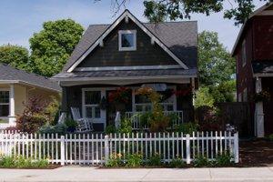 Craftsman Exterior - Front Elevation Plan #423-51