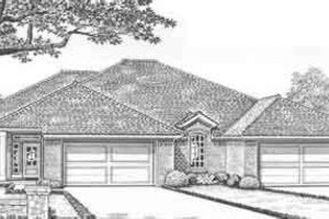 Traditional Exterior - Front Elevation Plan #310-448