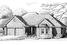 European Exterior - Front Elevation Plan #410-287