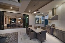 Contemporary Exterior - Outdoor Living Plan #930-20