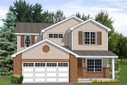 Traditional Style House Plan - 4 Beds 2.5 Baths 2242 Sq/Ft Plan #116-253