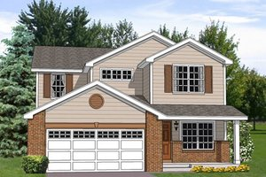 Traditional Exterior - Front Elevation Plan #116-253