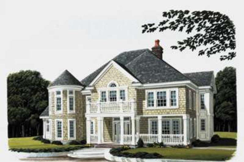 Bungalow Exterior - Front Elevation Plan #410-173 - Houseplans.com