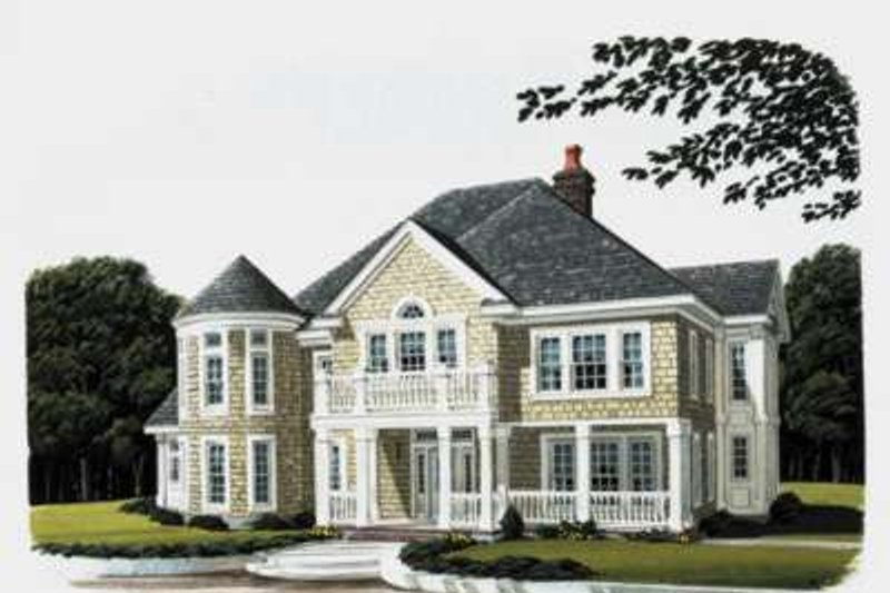 Architectural House Design - Bungalow Exterior - Front Elevation Plan #410-173