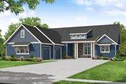 Craftsman Style House Plan - 3 Beds 2.5 Baths 2327 Sq/Ft Plan #124-1243