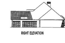 House Plan Design - European Exterior - Other Elevation Plan #17-2193