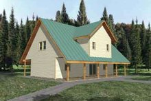 Dream House Plan - Traditional Exterior - Front Elevation Plan #117-280