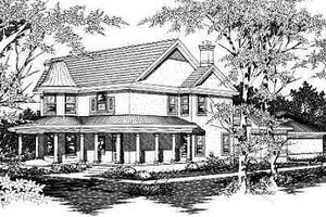 Traditional Exterior - Front Elevation Plan #329-283