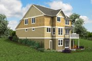 Cottage Style House Plan - 5 Beds 3.5 Baths 3770 Sq/Ft Plan #48-997 Exterior - Other Elevation