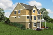 House Plan Design - Cottage Exterior - Other Elevation Plan #48-997