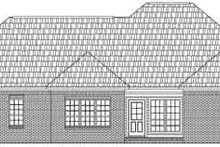 Dream House Plan - European Exterior - Rear Elevation Plan #21-174