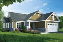 Architectural House Design - Ranch Exterior - Front Elevation Plan #23-2656