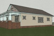 Craftsman Style House Plan - 3 Beds 2 Baths 1630 Sq/Ft Plan #461-7 Exterior - Other Elevation
